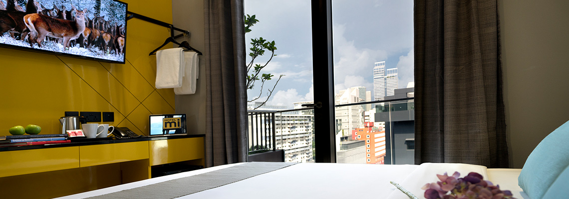 Superior Balcony Room at Hotel Mi Singapore